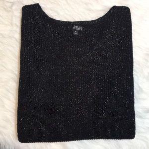 a.n.a V-Neck Shimmer Sweater NWOT